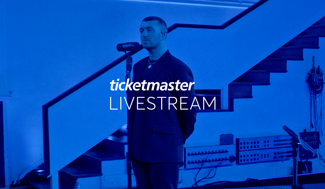 Ticketmaster launches global Ticketmaster Livestream service
